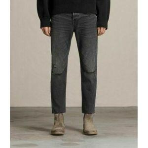 ALL SAINTS Men's BAKER SID Straight Crop Jeans